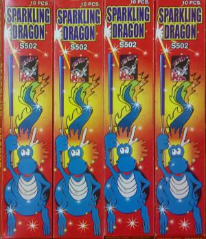 Sparkling Dragon 4 doosjes